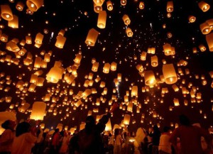 Таиланд в пламени огней кратонгов - Zagrannik.org