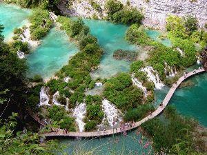 Плитвицкие озёра. Хорватия