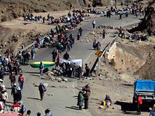 Демонстрации в Боливии