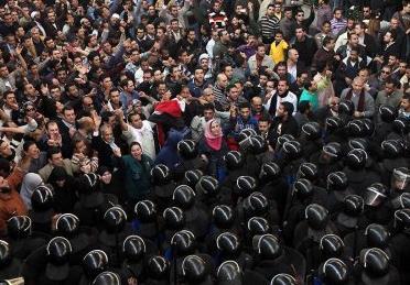 Беспорядки в Египте 10.10.2011