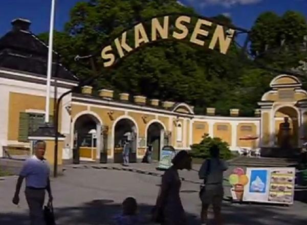 Музей Скансен в Швеции