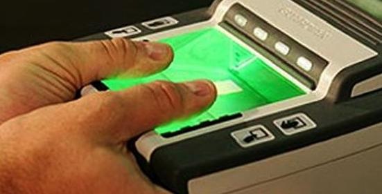 Загранпаспорт с отпечатками пальцев