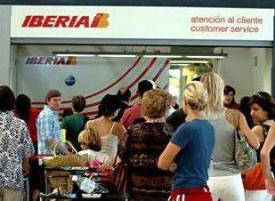 Забастовка Iberia парализовала аэропорт Мадрида