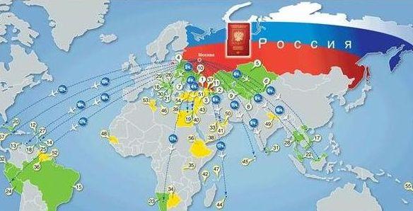 Страны безвизового въезда