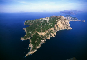 Aerial View of Capri