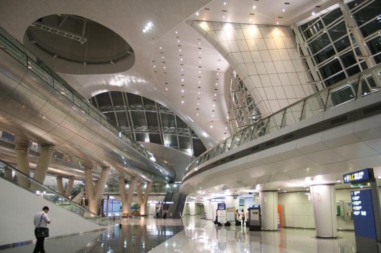 корейский аэропорт