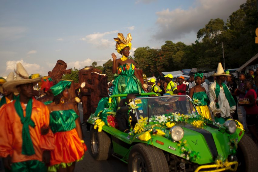 Haiti Carnival of Flowers