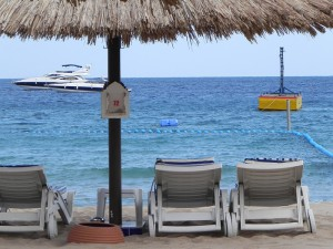 пустые пляжи Египта