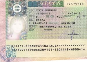 visa italy
