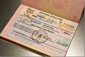 viza in India