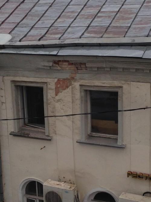 фасад здания на Мясницкой