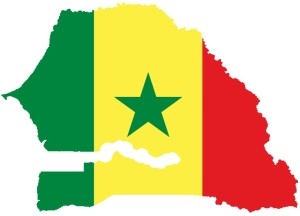 Senegal-Flag-Map